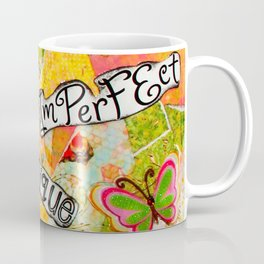 I Am Beautiful Mixed Media Coffee Mug