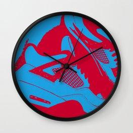 """Air Jordan 4 """"Cactus Jack"""" - Print 1 Wall Clock"""