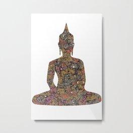 Exotic Thai Metal Print