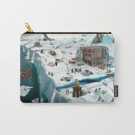 Save the Ice Carry-All Pouch