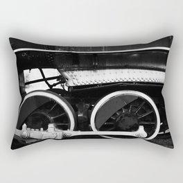 Train Wheels Rectangular Pillow