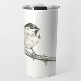 Milk-Warm Mewling of Chickadees Travel Mug
