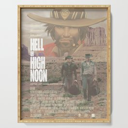 Hell or High Noon Serving Tray