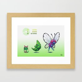 Pokevolution 010-012 Framed Art Print