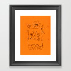 bastardo Framed Art Print