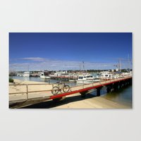bicycle Canvas Prints featuring Bicycle  by Chris' Landscape Images & Designs