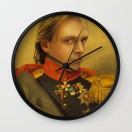 Rik Mayall Portrait Wall Clock