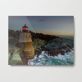 Castle Hill Lighthouse - Newport, Rhode Island Metal Print