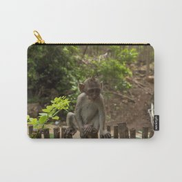 Wise baby monkey Carry-All Pouch