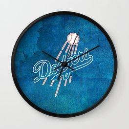 LA Dodgers Wall Clock