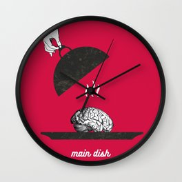 Main dish Wall Clock