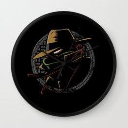 Undercover Ninja Raph Wall Clock