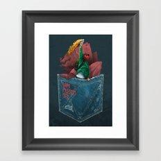 MOLOTOV - I am pissed off Framed Art Print