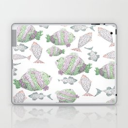 Fish Pattern Laptop & iPad Skin