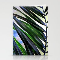 palm Stationery Cards featuring palm by  Agostino Lo Coco