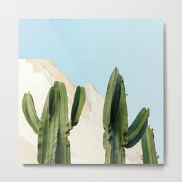 High Cactus Metal Print