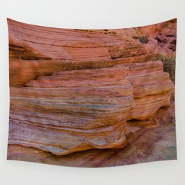 Colorful Sandstone, Valley of Fire - IIa Wall Tapestry