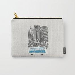 Miami Cityscape Carry-All Pouch