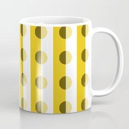 Horizons Geometric Sun Shine Yellow Coffee Mug