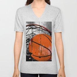 Modern Basketball version 1 Unisex V-Neck