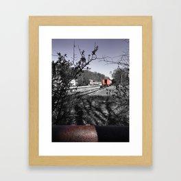 Train Time Framed Art Print