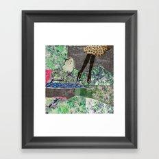 garden of sparkles Framed Art Print