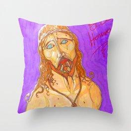 Ecce Homo ! Throw Pillow