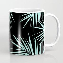 Palm Leaves Cali Finesse #4 #MintBlack #tropical #decor #art #society6 Coffee Mug