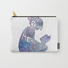 It was Books that Made me Feel Like I was Not Completely Alone Carry-All Pouch