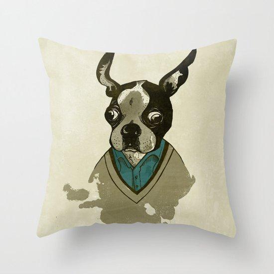 perfect gentleman Throw Pillow