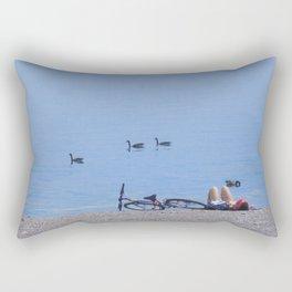Summer Dream at Beach Rectangular Pillow