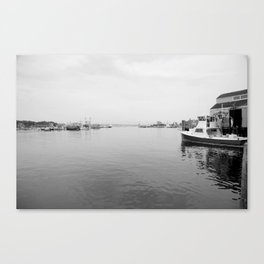 Fish dock Canvas Print