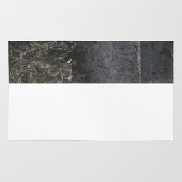 collage black Rug