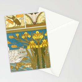 Maurice Pillard Verneuil - Lucanes et champignons Stationery Cards