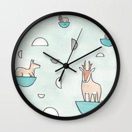 peninsular pronghorn Wall Clock