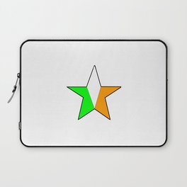 flag of ireland 11 -ireland,eire,airlann,irish,gaelic,eriu,celtic,dublin,belfast,joyce,beckett Laptop Sleeve