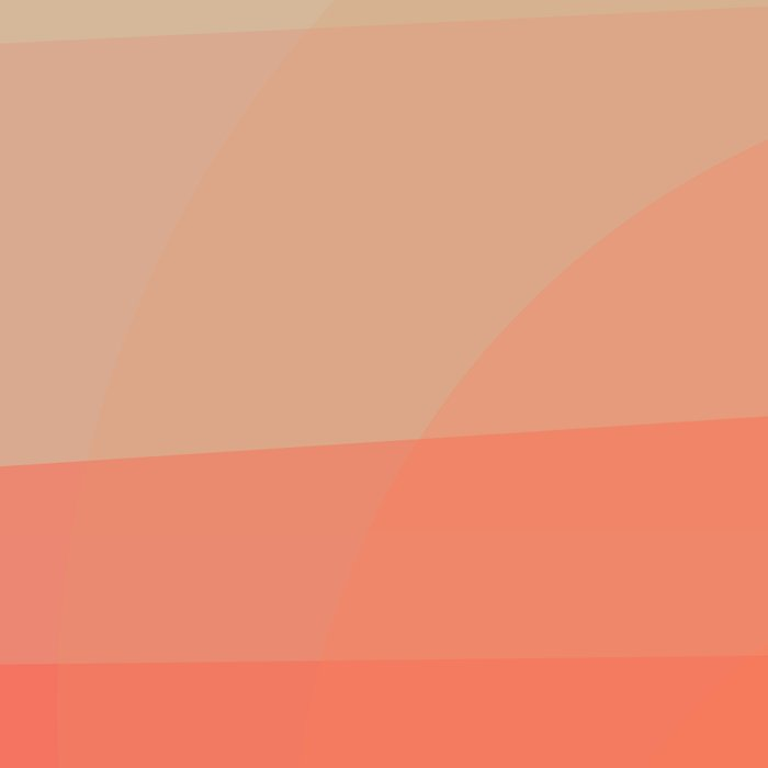 Colors Sunset Leggings