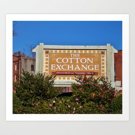 Lovely Place To Shop Art Print