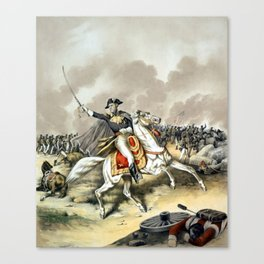 Andrew Jackson At The Battle Of New Orleans Canvas Print