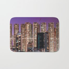 Hong Kong Purple High Rise Bath Mat
