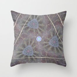Soft Noon Throw Pillow