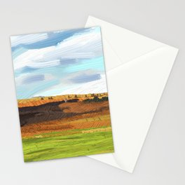 Farming Plain Stationery Cards
