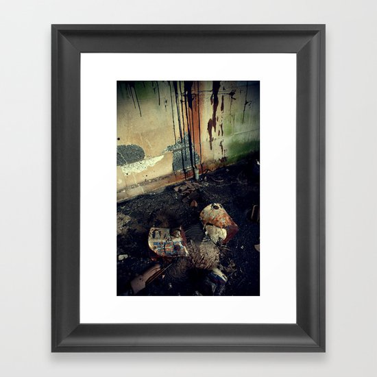 Expressionism Framed Art Print