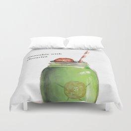 La Cuisine Fusion - Smoothie with Chouriça Duvet Cover