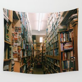 Bookstore Wall Tapestry