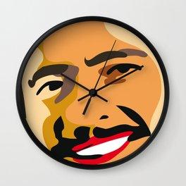 happy farmer Wall Clock