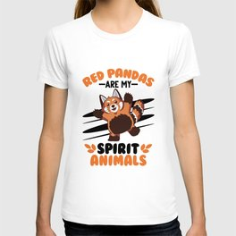 Red Panda Spirit Animal Red Panda Gift T-shirt