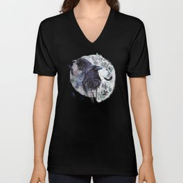 Full Moon Fever Dreams Of Velvet Ravens Unisex V-Neck