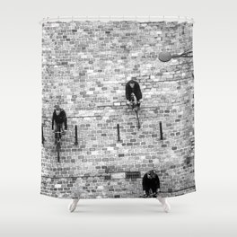 On Course… Shower Curtain