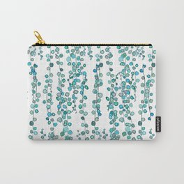 string of pearl watercolor Carry-All Pouch